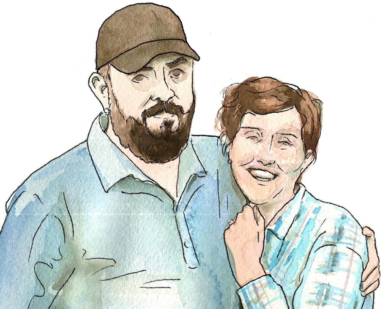 Bonnie Fortune & Brett Bloom | Illustration Becca Taylor ...