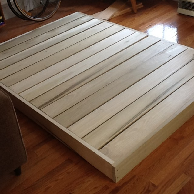 Homemade Bed Frame Homemade bed edition